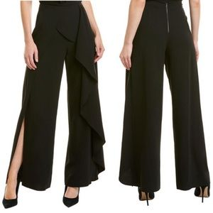 Alice + Olivia Verdell Ruffled Wide-leg Pants